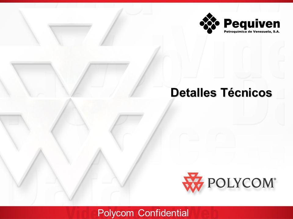 Polycom Confidential Detalles Técnicos
