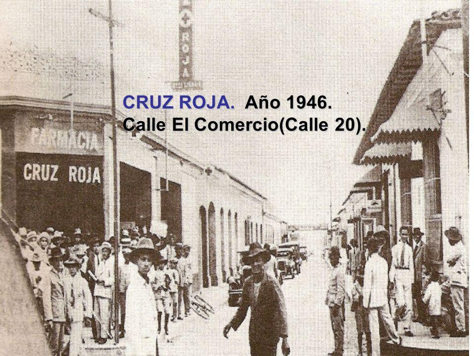 MATERNIDAD LUISA CACERES. Año 1945.