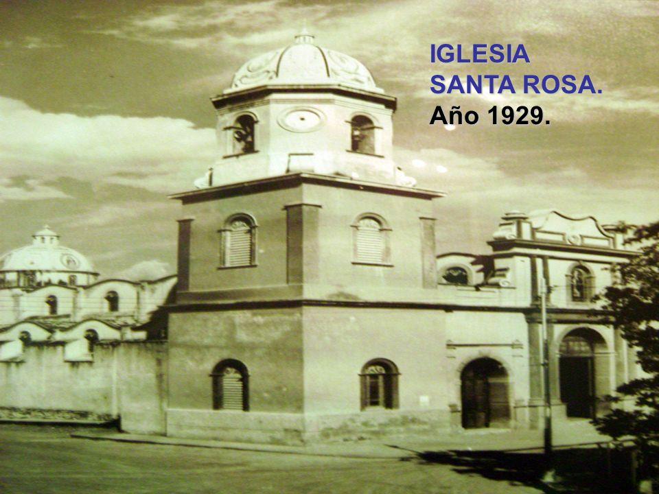 PROCESION DE LA DIVINA PASTORA. Año 1920. En la Ave 20.