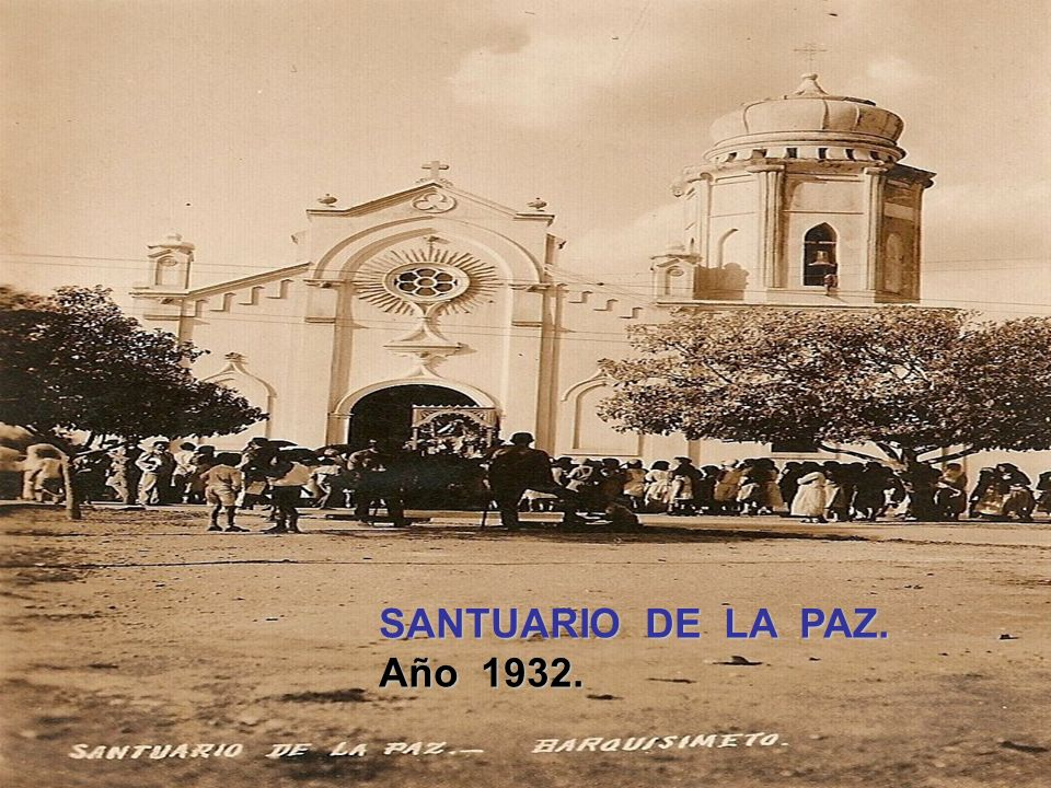 IGLESIA SANTA ROSA. Año 1929.
