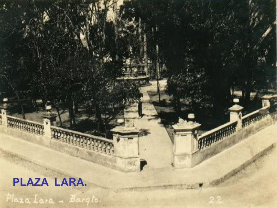 PLAZA BOLIVAR. Año 1932..