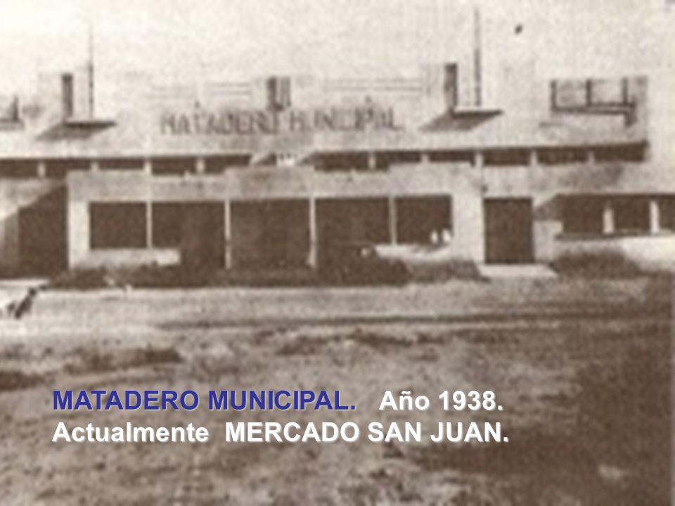 . MERCADO MUNICIPAL. Año 1936. Actualmente en este sitio está el Edificio Nacional y la plaza Juan Guillermo Iribarren.