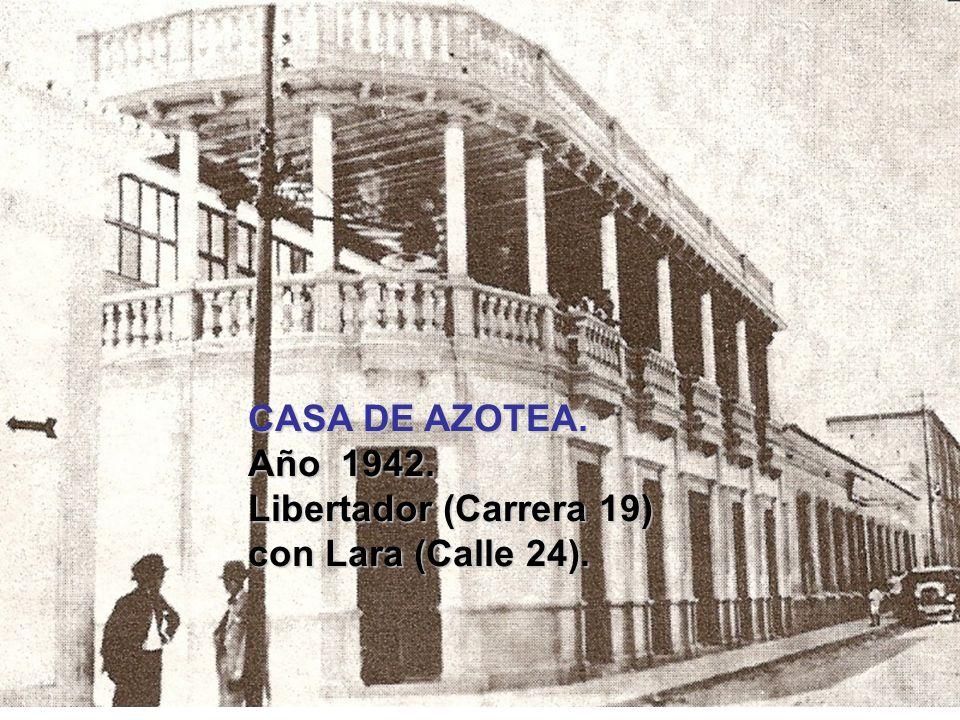 ESTACION DEL GRAN FERROCARRIL BOLIVAR. Año 1941. Actualmente IGLESIA CATEDRAL