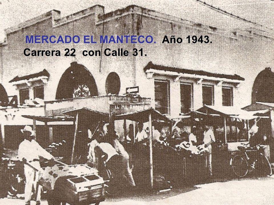 CASA DE AZOTEA. Año 1942. Libertador (Carrera 19) con Lara (Calle 24).