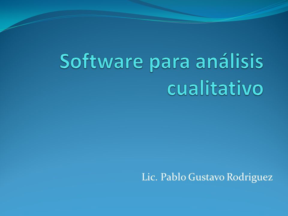 Lic. Pablo Gustavo Rodriguez