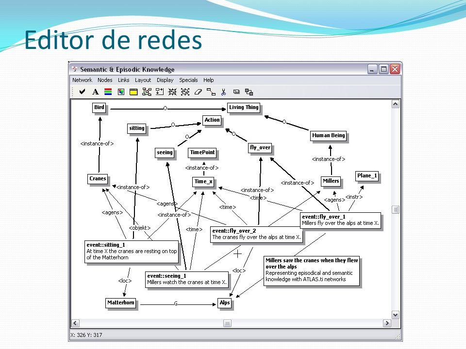 Editor de redes