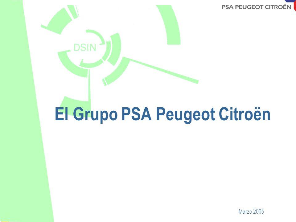 Octobre 2001 El Grupo PSA Peugeot Citroën Marzo 2005
