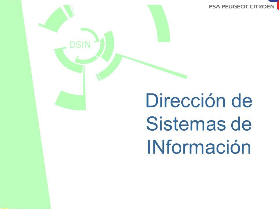 Octobre 2001 Dirección de Sistemas de INformación