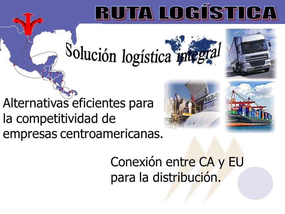 Alternativas eficientes para la competitividad de empresas centroamericanas.