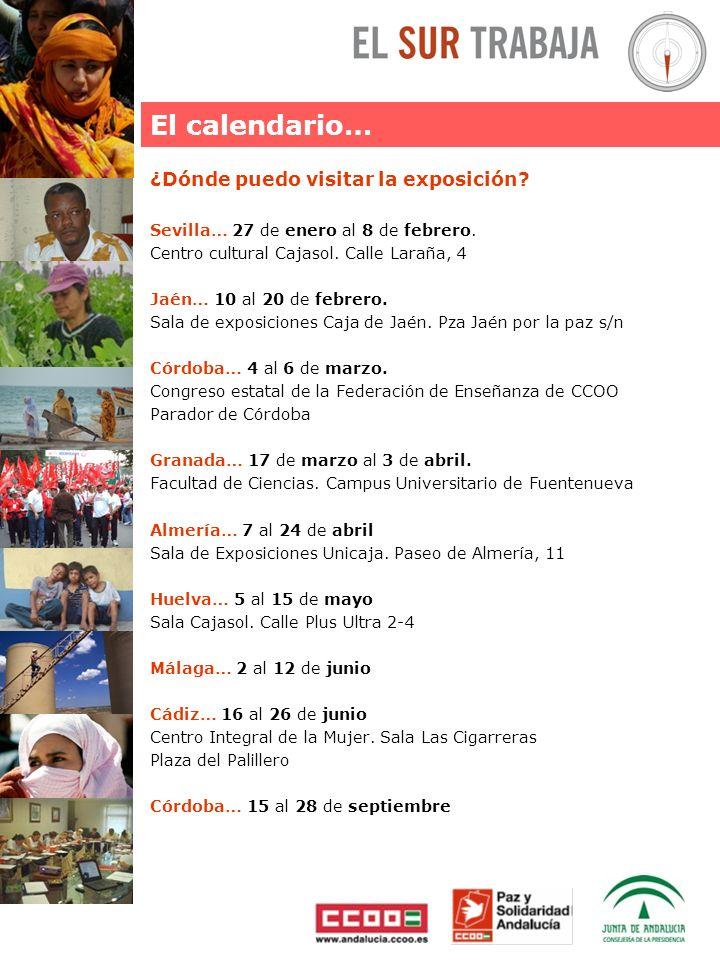 ¿Dónde puedo visitar la exposición. Sevilla… 27 de enero al 8 de febrero.