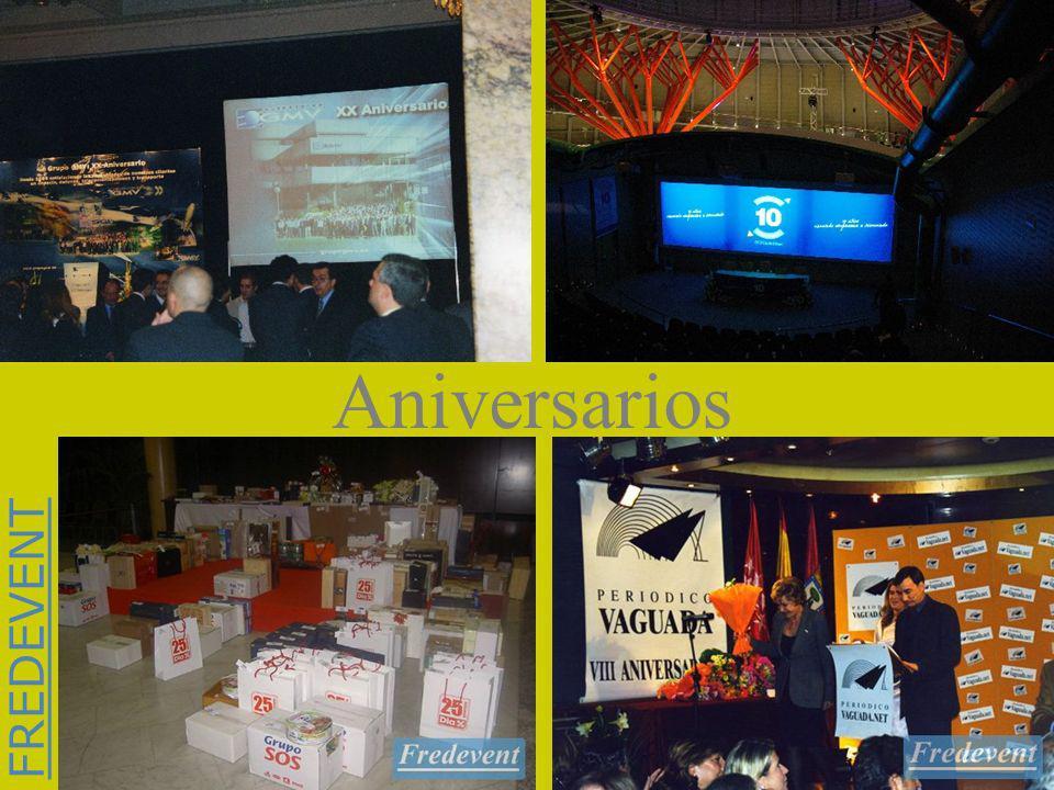 FREDEVENT Aniversarios