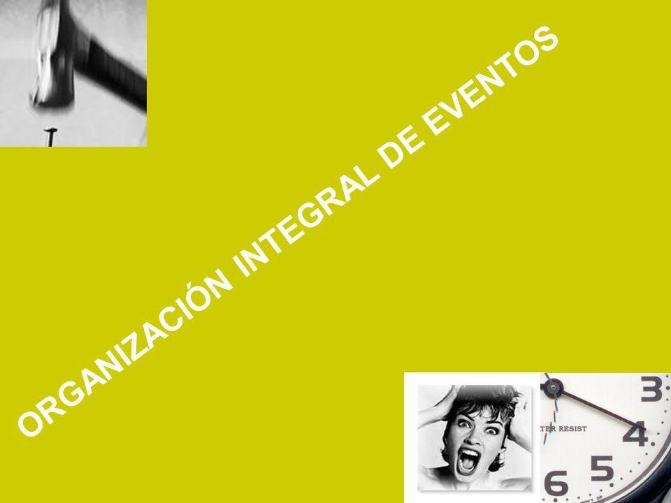 ORGANIZACIÓN INTEGRAL DE EVENTOS