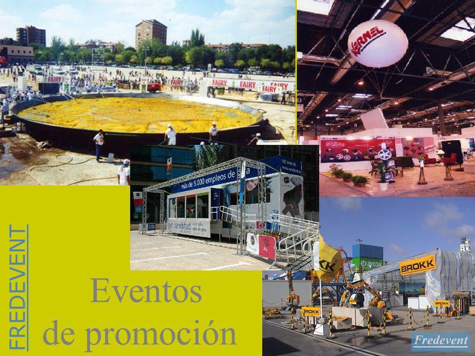 Eventos de promoción FREDEVENT