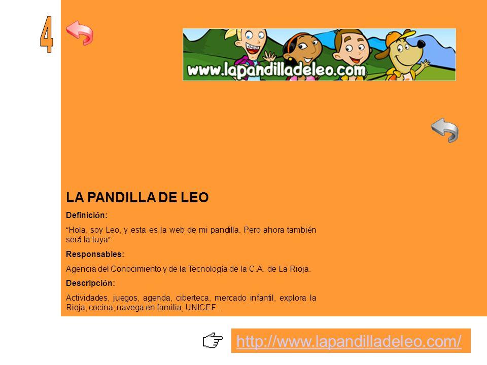 ANDALUNA Y SAMIR Definici ó n: P á gina dedicada al p ú blico infantil basada en los Derechos de las y los menores.