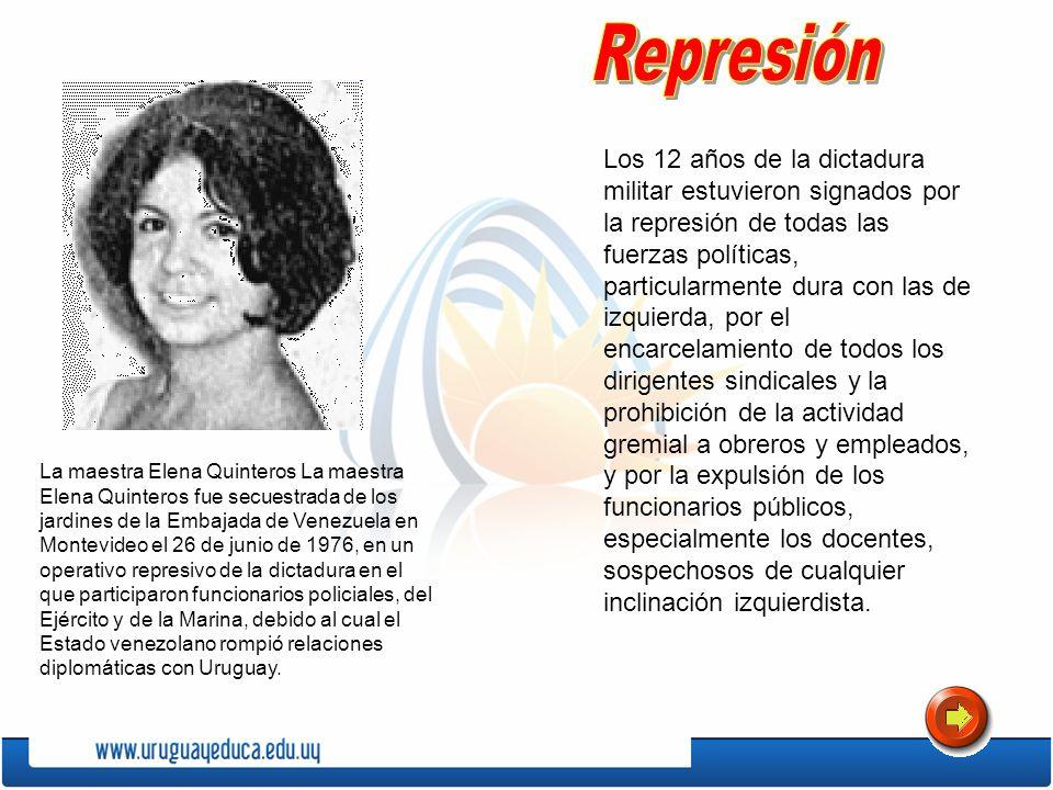 Los 12 años de la dictadura militar estuvieron signados por la represión de todas las fuerzas políticas, particularmente dura con las de izquierda, po