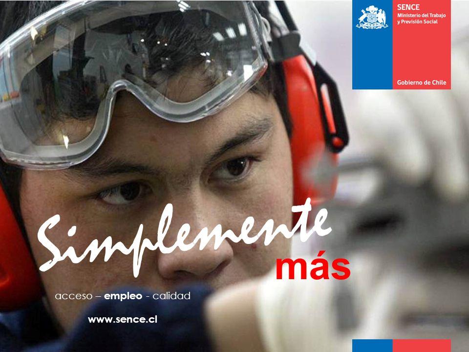 www.sence.cl más Simplemente acceso – empleo - calidad