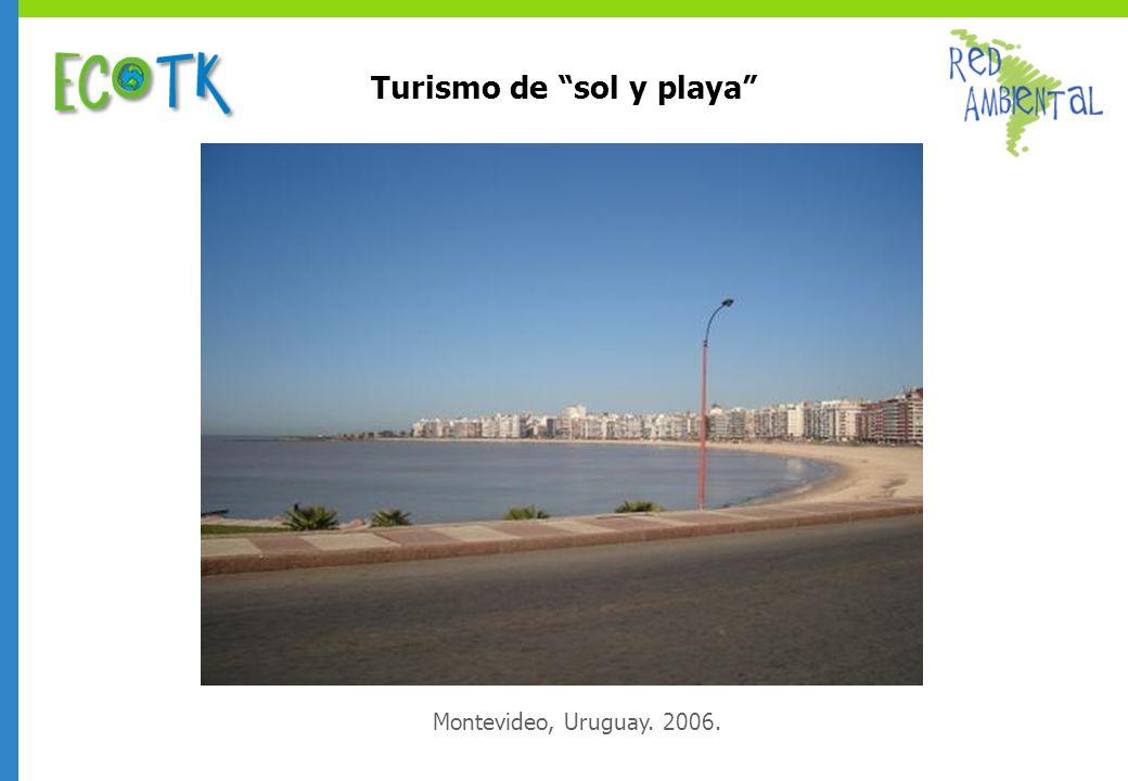 Turismo de sol y playa Montevideo, Uruguay. 2006.