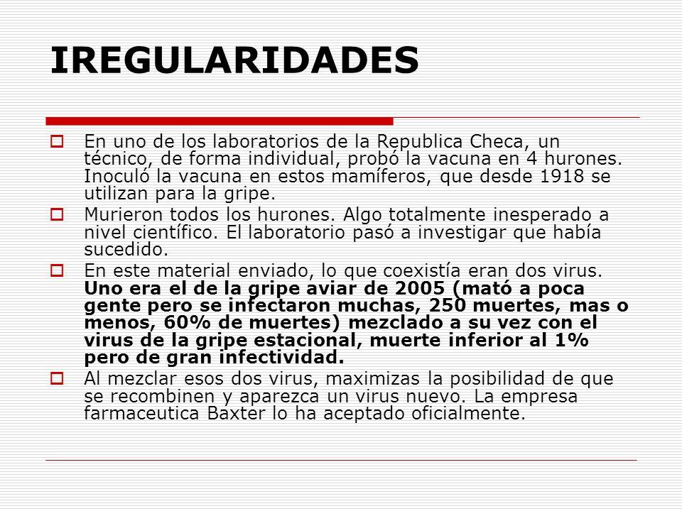 El Ministerio de la Salud español expone a profesionales y ciudadanos a una vacuna que reconocen como peligrosa la Consejería de la Salud de Madrid está extendiendo entre su personal sanitario, del cual extraemos algunos sugerentes datos que nos llevan, irremisiblemente, a la conclusión de que la Unión Europea ha dispuesto un programa masivo de envenenamiento de la población: 1-En la segunda ficha del pps, se lee: los datos disponibles sobre la seguridad y la inmunogenicidad de las vacunas pandémicas actuales son limitados, siendo necesario un seguimiento activo para detectar y evaluar los eventos adversos post-vacunación y con la información disponible evaluar la relación beneficio- riesgo.