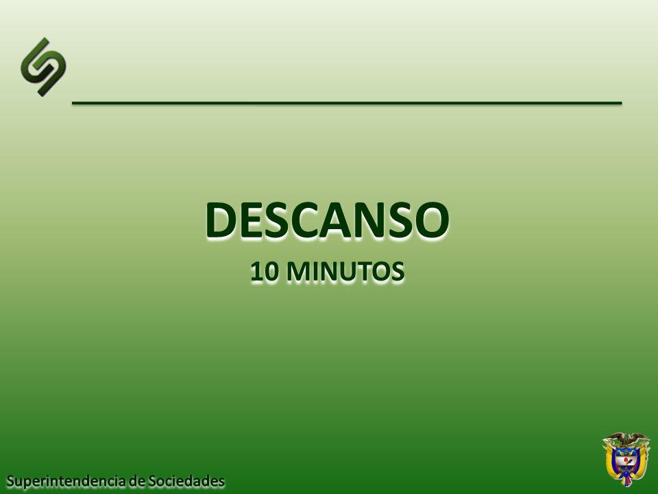 DESCANSO 10 MINUTOS DESCANSO 10 MINUTOS