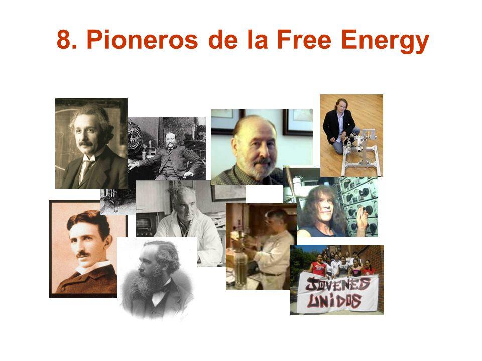 8. Pioneros de la Free Energy