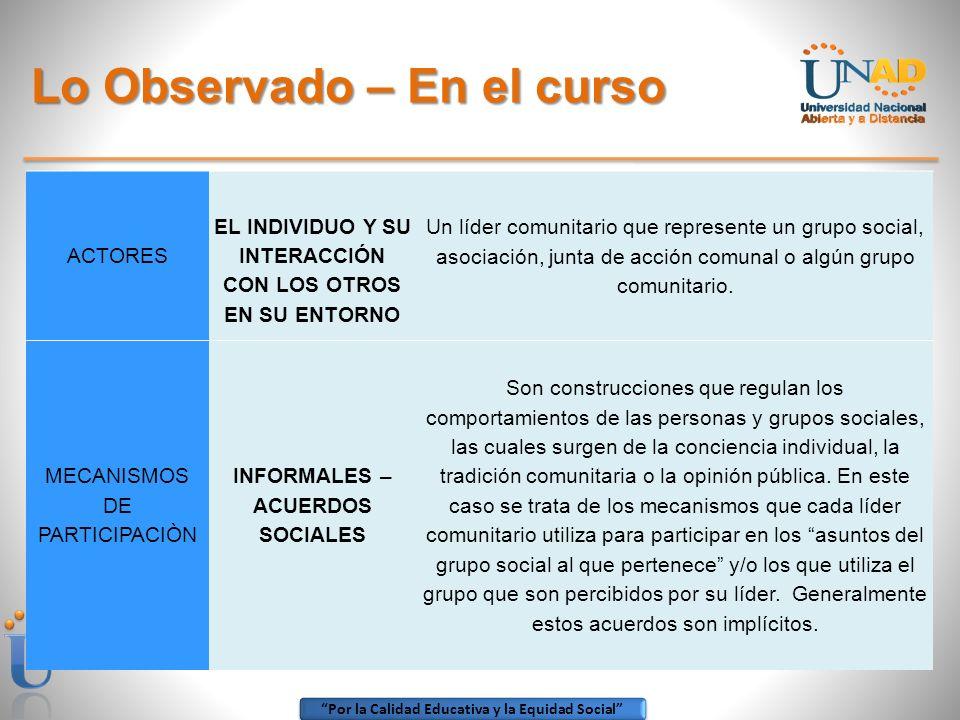 Por la Calidad Educativa y la Equidad Social 4.
