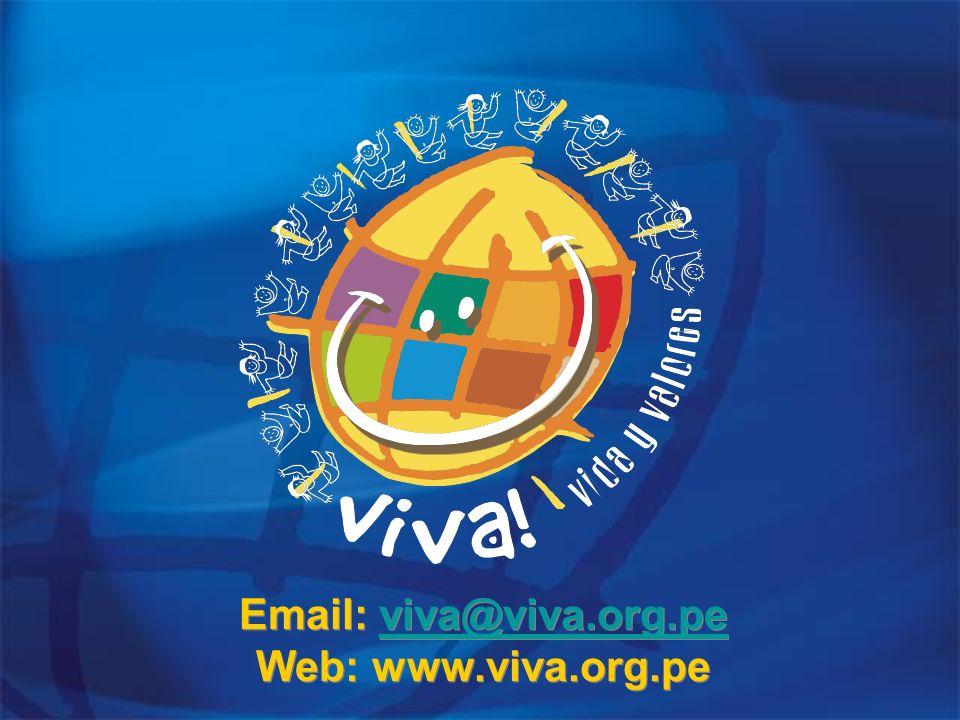 Email: viva@viva.org.pe Web: www.viva.org.peviva@viva.org.pe Email: viva@viva.org.pe Web: www.viva.org.peviva@viva.org.pe