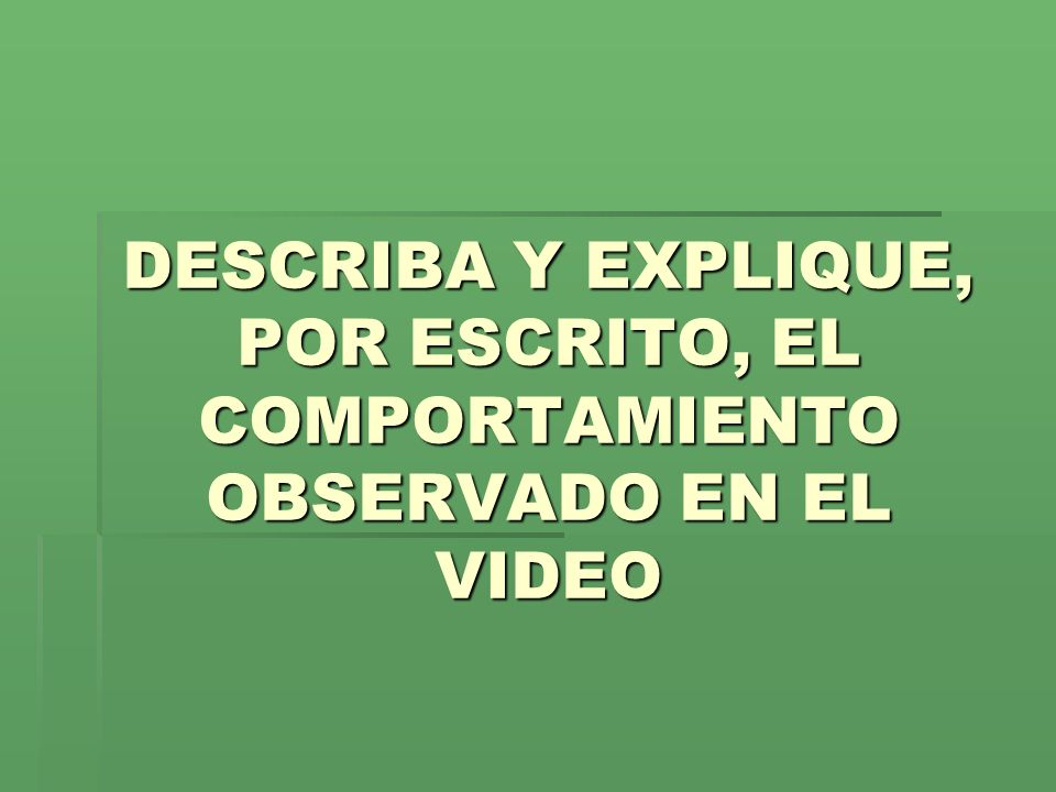 PERIODO NATURAL (ver video) ver videover video
