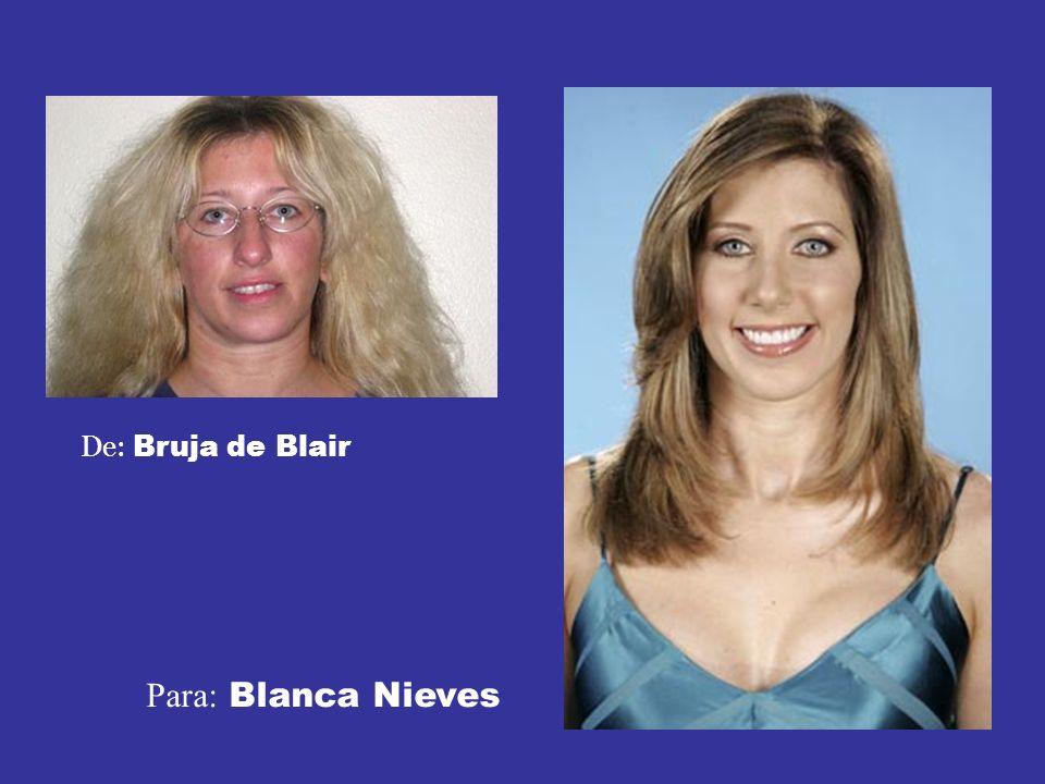 De: Bruja de Blair Para: Blanca Nieves