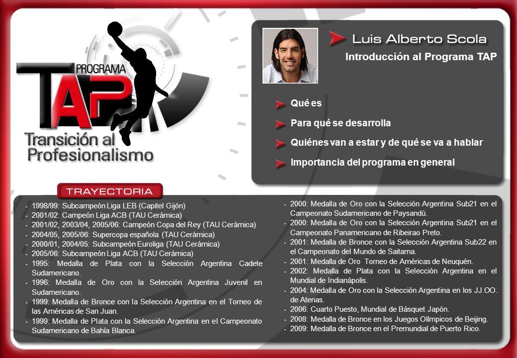 1998/99: Subcampeón Liga LEB (Capitel Gijón) 2001/02: Campeón Liga ACB (TAU Cerámica) 2001/02, 2003/04, 2005/06: Campeón Copa del Rey (TAU Cerámica) 2