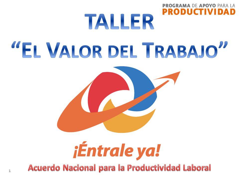 12 El Valor del Trabajo y el Orgullo de Trabajar Aportas al desarrollo de tu país.