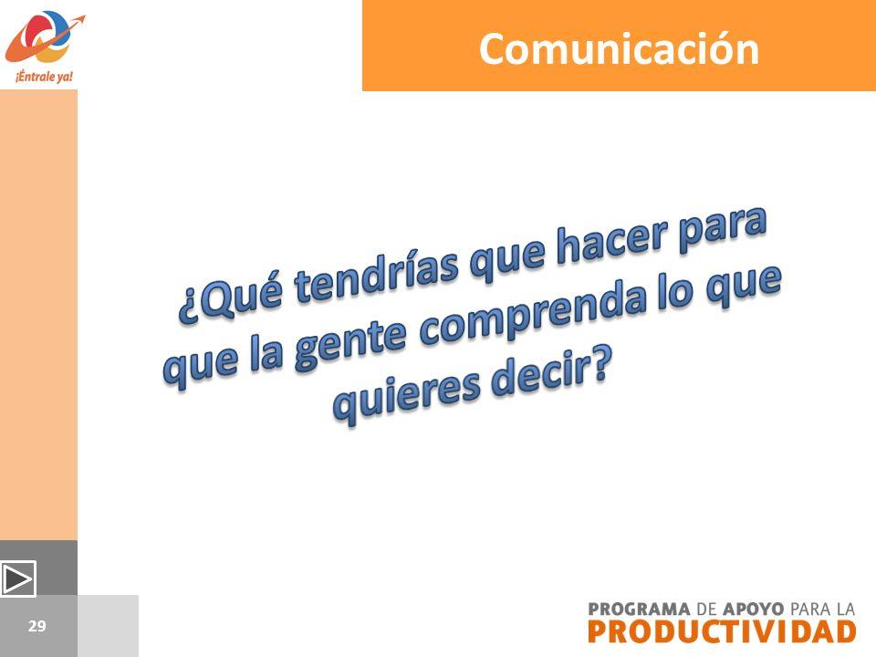 29 Comunicación