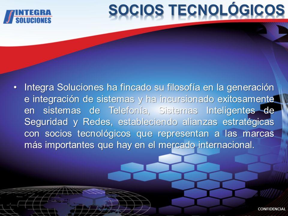 Integra Soluciones ha fincado su filosofía en la generación e integración de sistemas y ha incursionado exitosamente en sistemas de Telefonía, Sistema