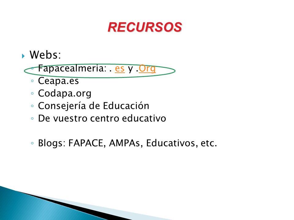 Webs: Fapacealmeria:.