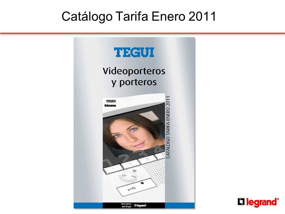 Catálogo Tarifa Enero 2011 1