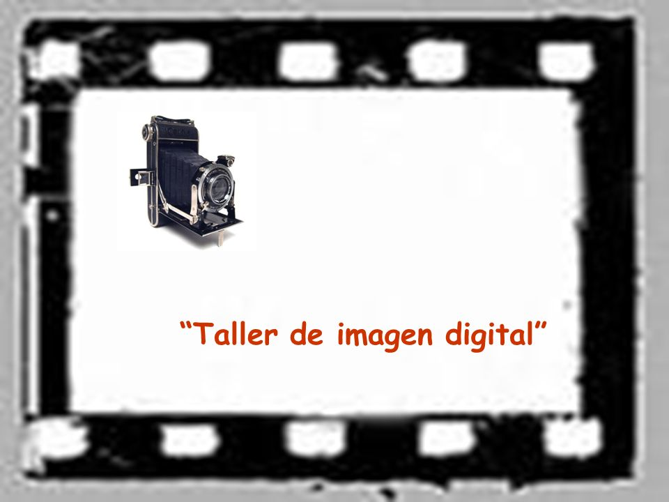 Taller de imagen digital