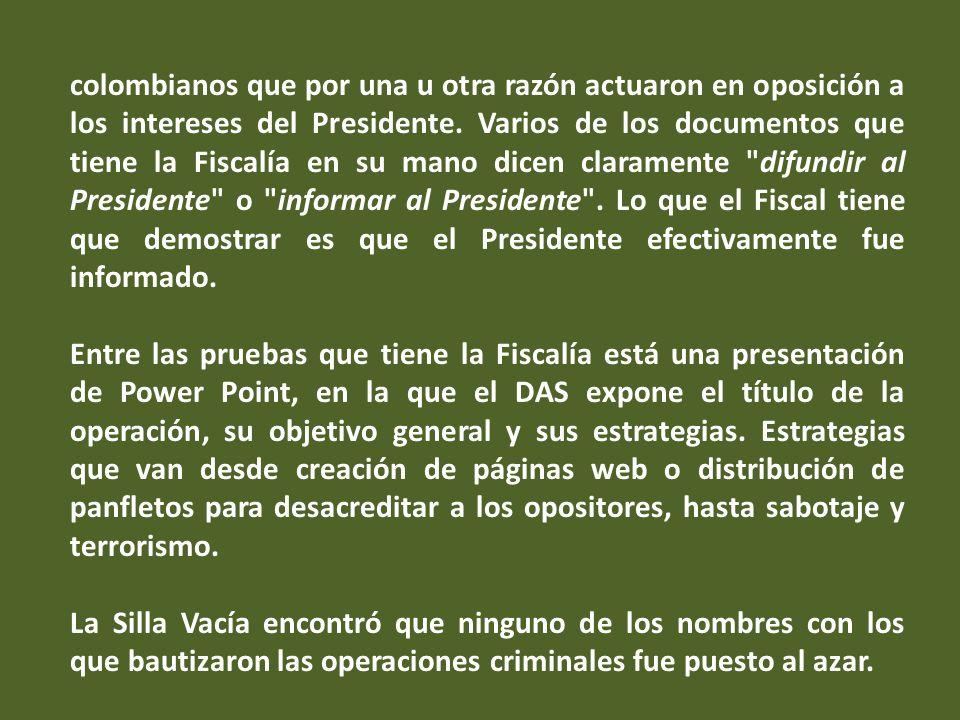 Si el Gobierno ordenara el espionaje ilegal tendría que ir a la cárcel, empezando por el Presidente de la República, dijo el martes el presidente Uribe en Cali.