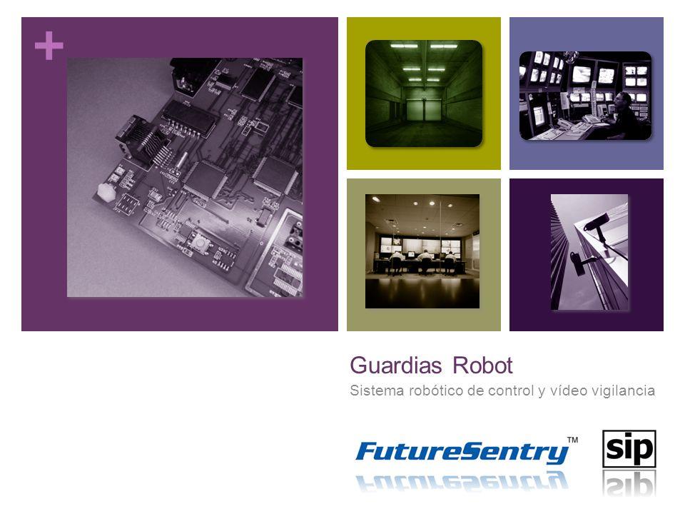 + Guardias Robot Sistema robótico de control y vídeo vigilancia