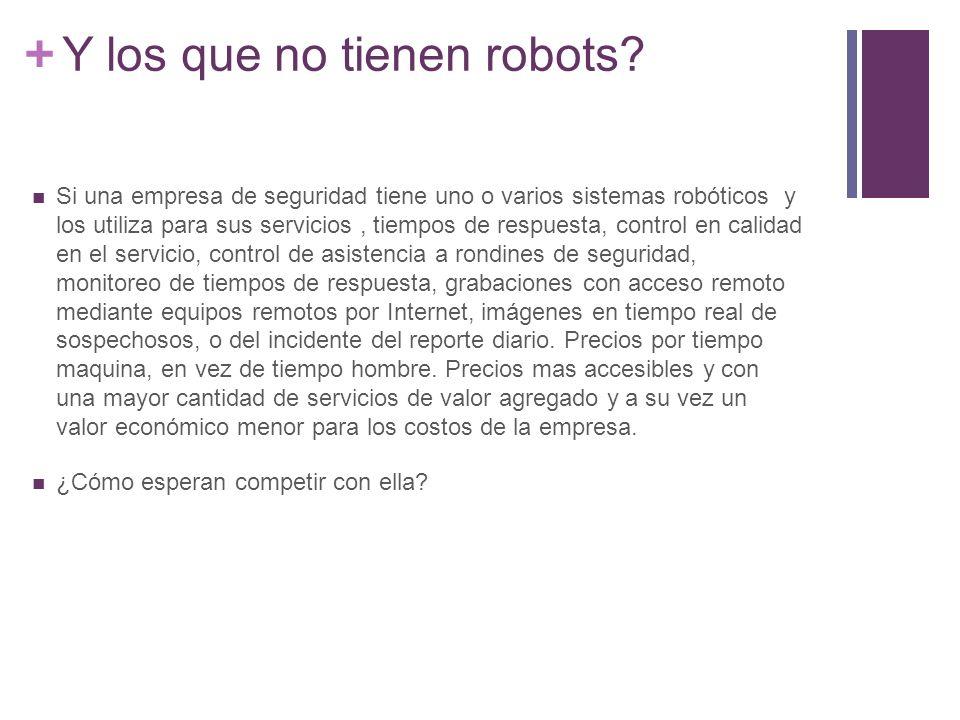 + Y los que no tienen robots.