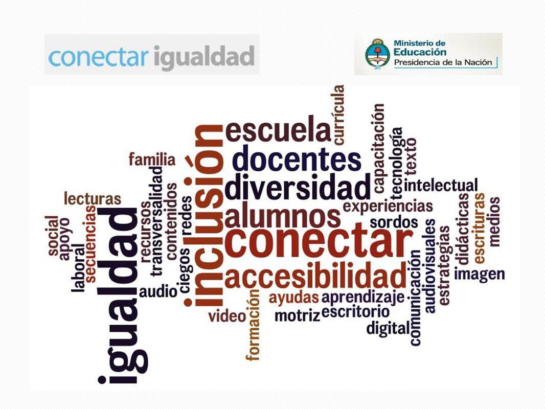 http://escritorioeducacionespecial.educ.ar/ http://conectarigualdad.infd.edu.ar