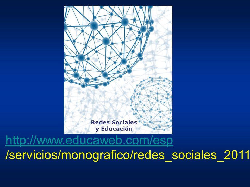 http://www.educaweb.com/esp /servicios/monografico/redes_sociales_2011