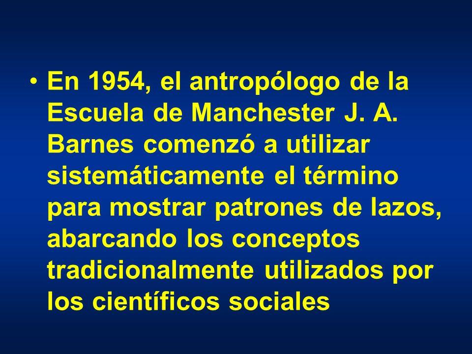 En 1954, el antropólogo de la Escuela de Manchester J.