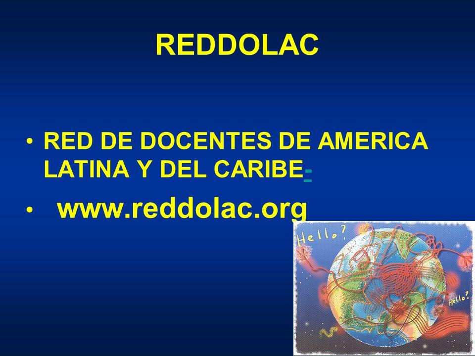 REDDOLAC RED DE DOCENTES DE AMERICA LATINA Y DEL CARIBE-- www.reddolac.org