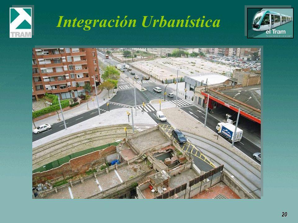 20 Integración Urbanística