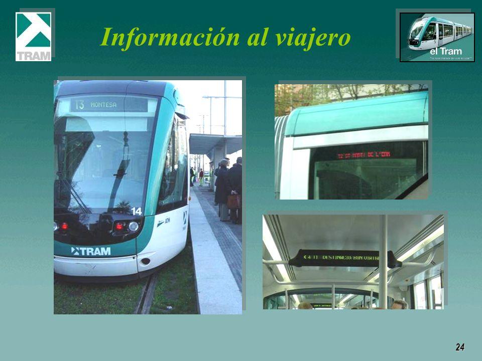 24 Información al viajero