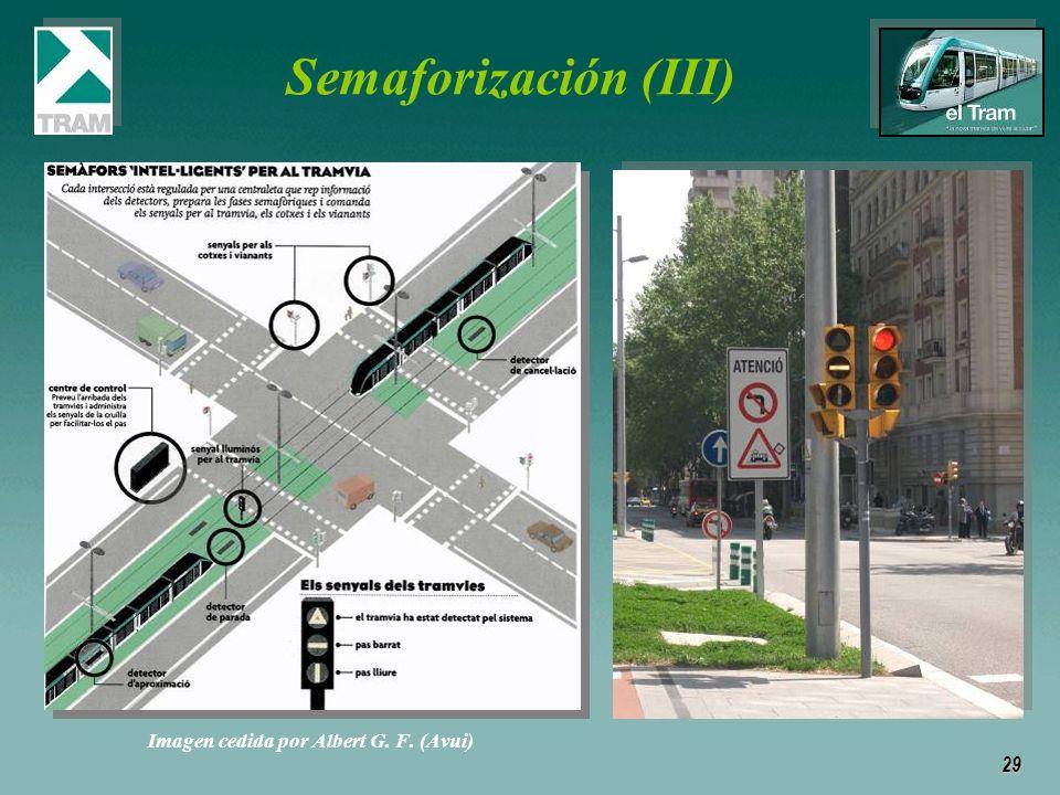 29 Semaforización (III) Imagen cedida por Albert G. F. (Avui)
