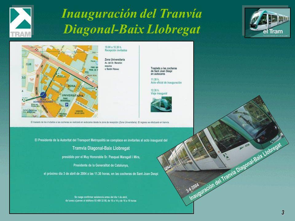 3 Inauguración del Tranvía Diagonal-Baix Llobregat