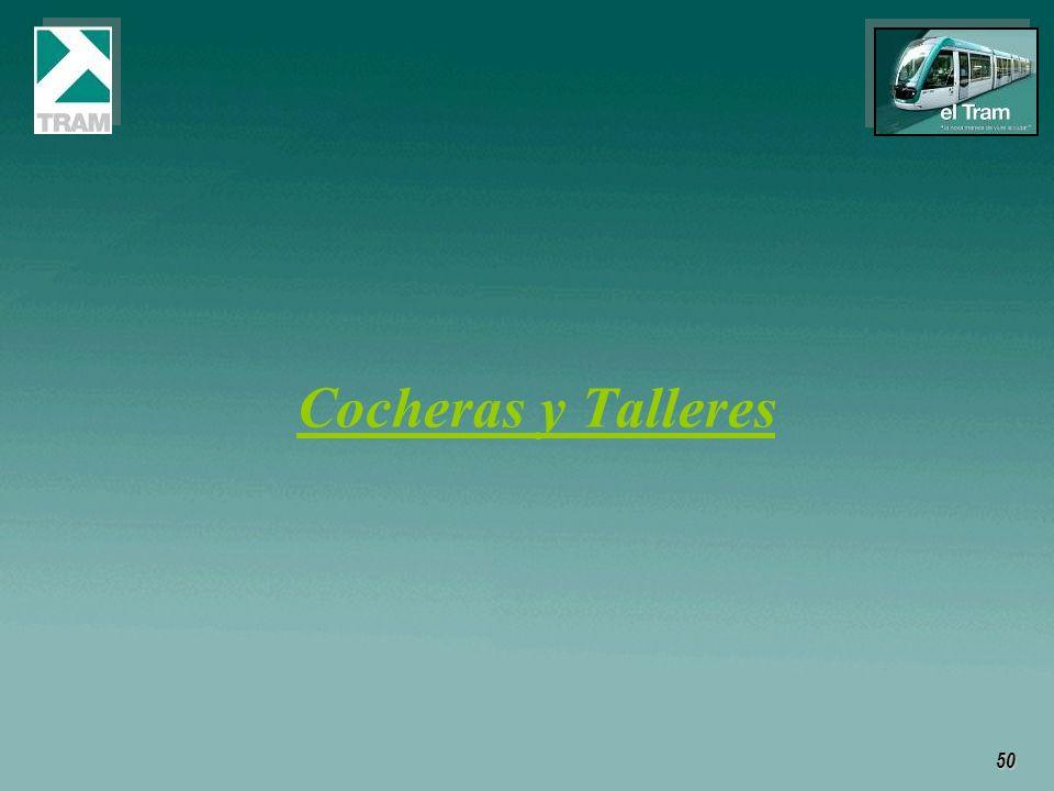 50 Cocheras y Talleres