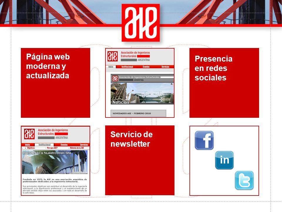 Jornadas Argentinas de Ingeniería Estructural Congresos, seminarios técnicos y cursos de actualización profesional Revista IE - Ingeniería Estructural