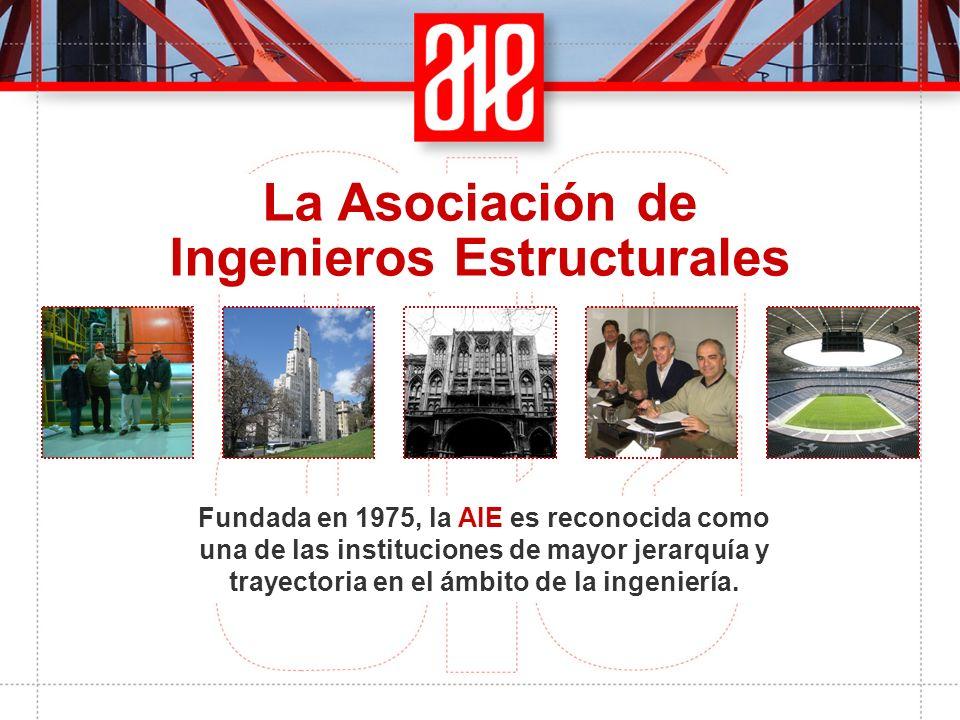 Fundada en 1975, la AIE es reconocida como una de las instituciones de mayor jerarquía y trayectoria en el ámbito de la ingeniería.