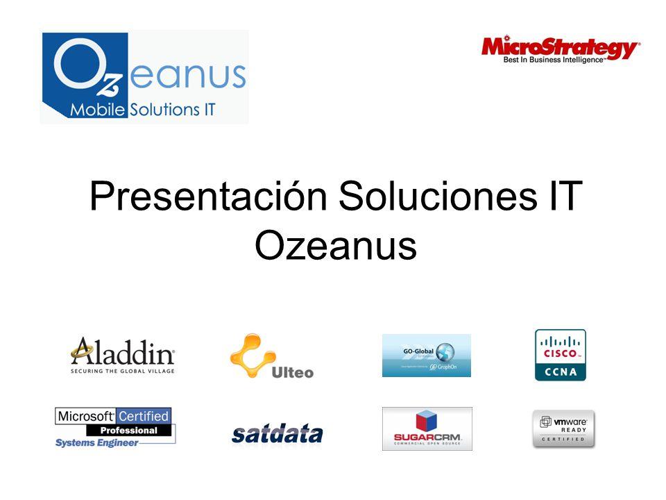 Presentación Soluciones IT Ozeanus